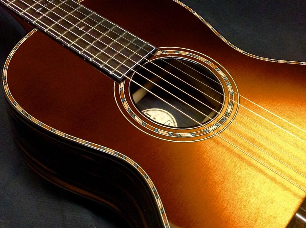 Stephen Kinnaird 16 Italian Black White Ebony Parlor Page 16 The Acoustic Guitar Forum Guitar Acoustic Guitar Custom Guitars
