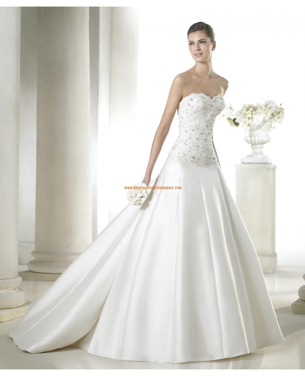 robe de mari e avec bustier dentelle perl 2015 robes mariage pinterest dentelle perl e. Black Bedroom Furniture Sets. Home Design Ideas