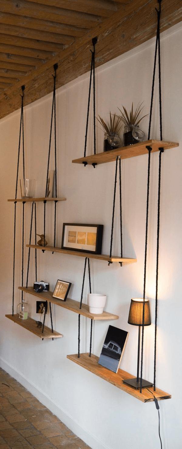 l tag re balan oire une tag re suspendue pratique et. Black Bedroom Furniture Sets. Home Design Ideas