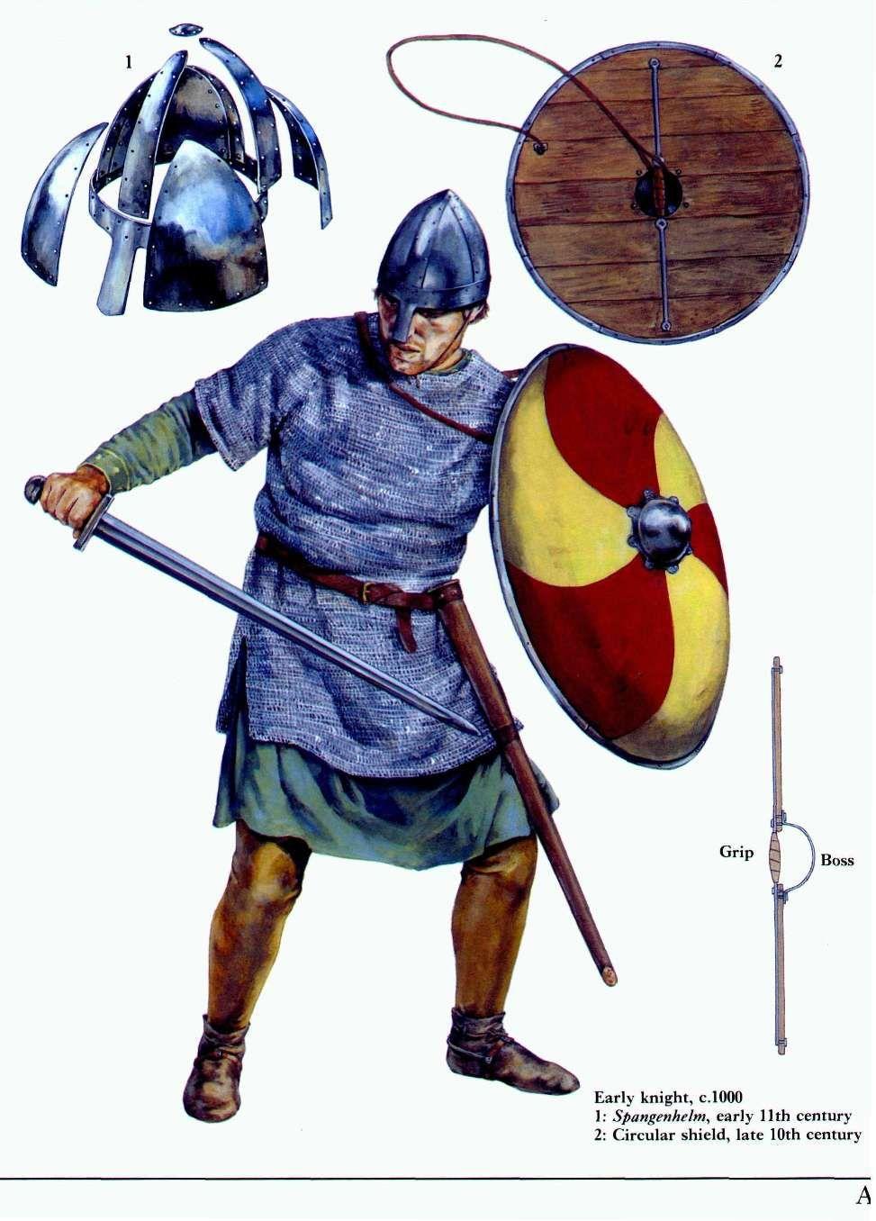Viking warrior, 11th century