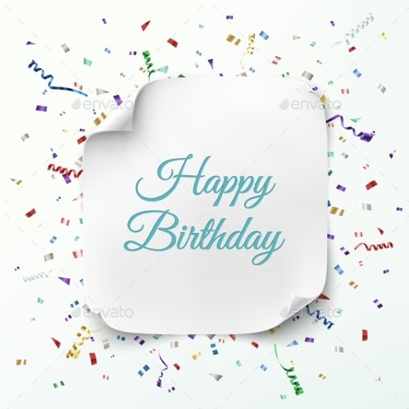 Happy Birthday Greeting Card Template Fonts-logos-icons - greeting card templates