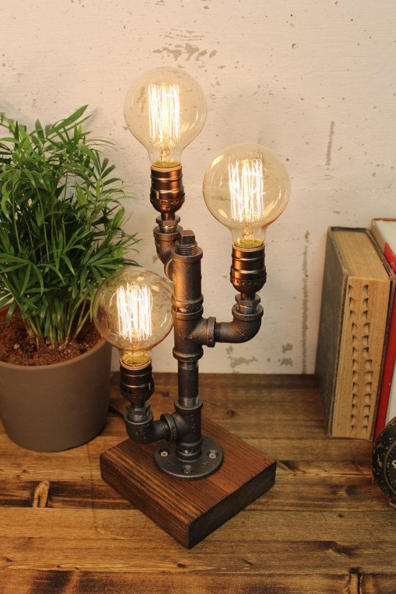 Set Up Corridor Ideas And Suggestions Industrial Table Lamp Steampunk Lighting Steampunk Table Lamp