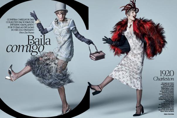 Publication: Vogue Brazil March 2014 Model: Ieva Laguna Photographer: Zee Nunes Fashion Editor: Pedro Sales