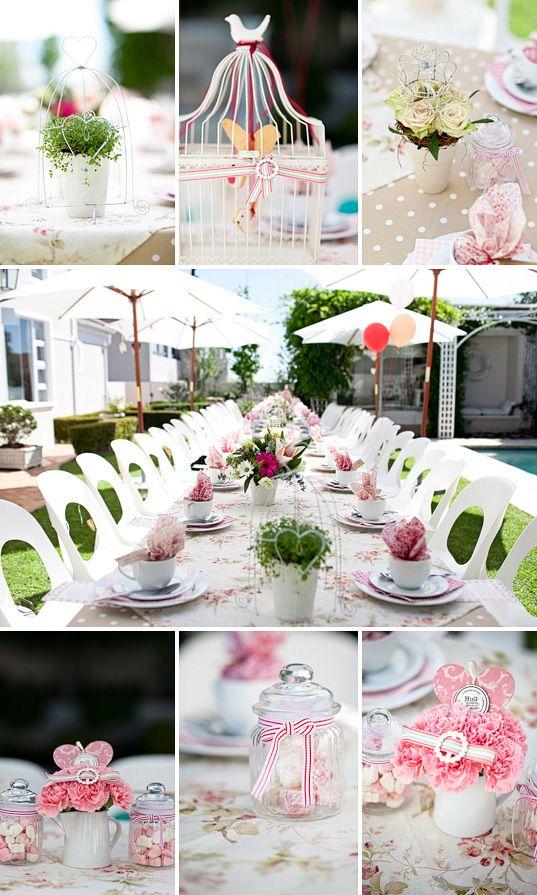 My Kitchen Tea Cute Girly Tea Party Bridal Shower Kitchen