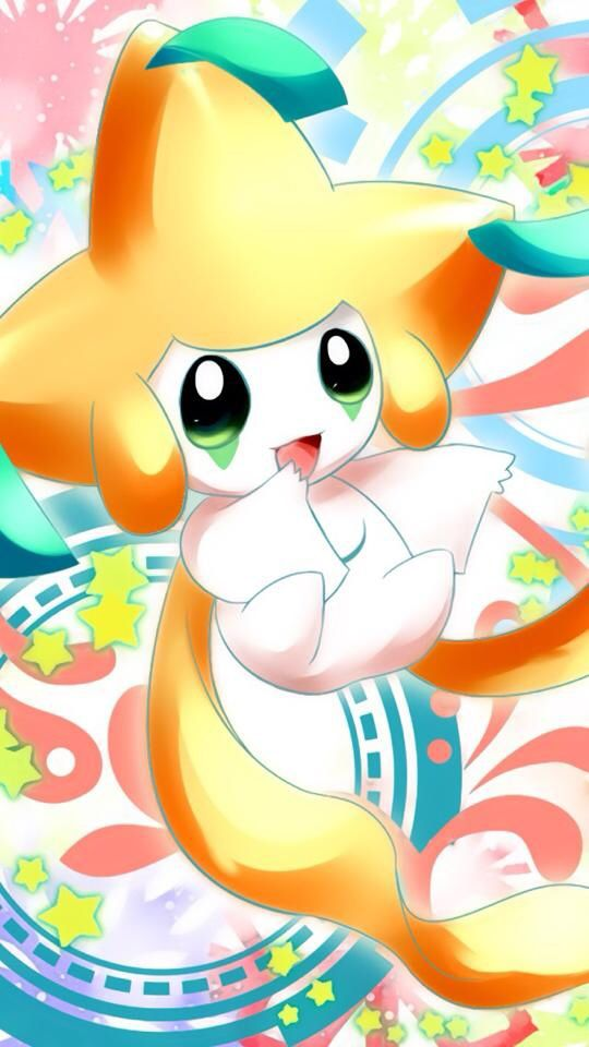 Cute Jirachi. | Cute pokemon wallpaper, Cute pokemon, Pokemon eevee
