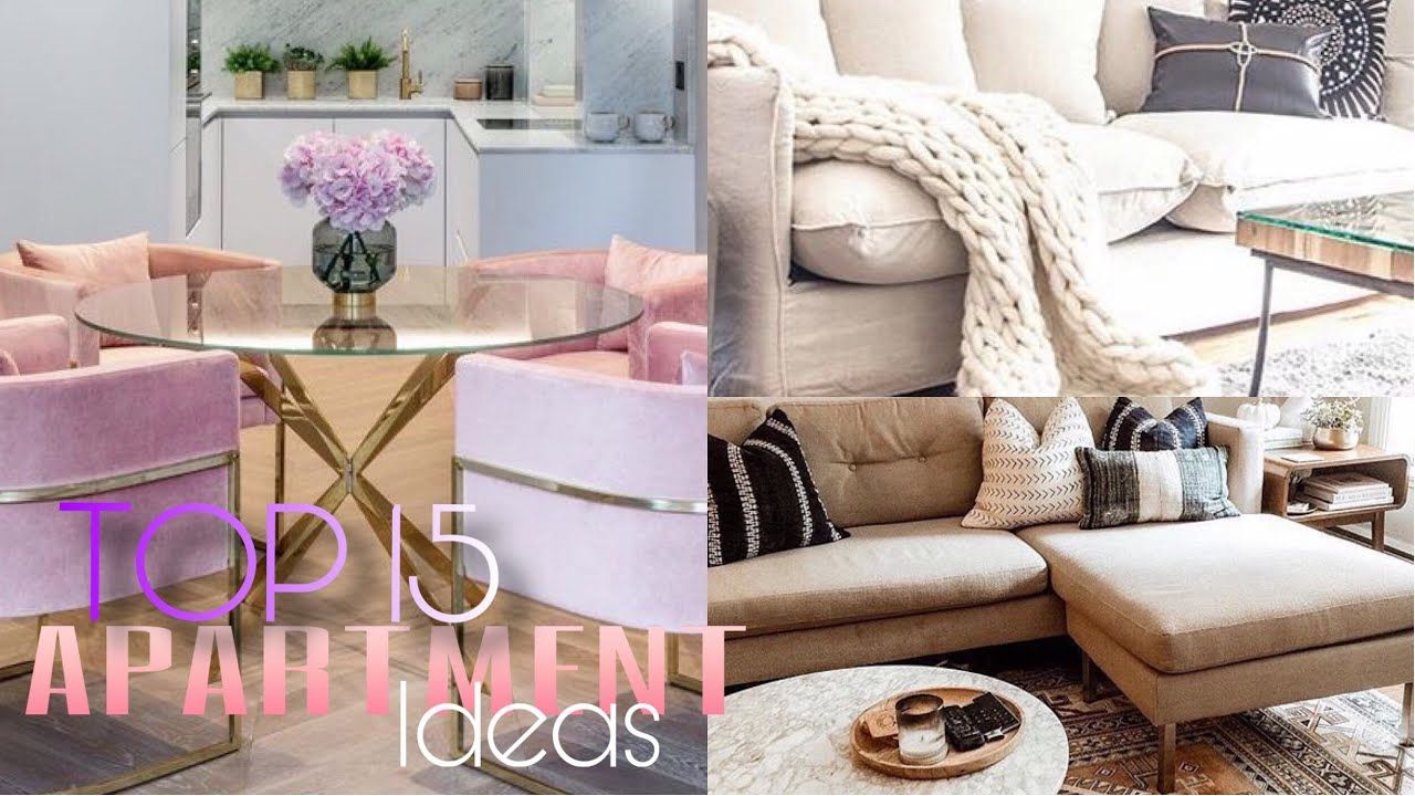 Apartment Decorating Ideas 2019 Small Space Youtube Small