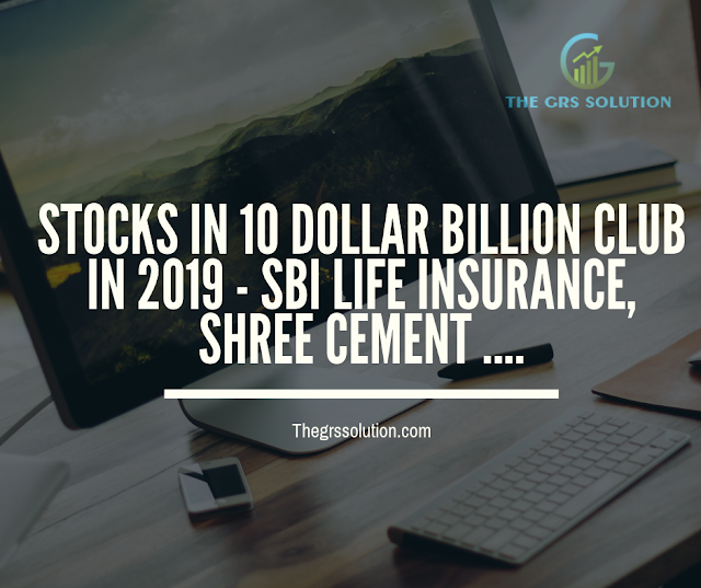 This Year Shree Cements And Sbi Life Entered The 10 Billion Club