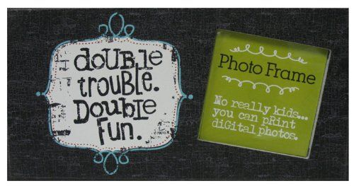 Double Trouble Frame by Ganz Ganz