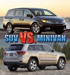 4 Tips For Choosing Between An SUV Or Minivan