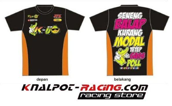 Pin Di Kaos Racing