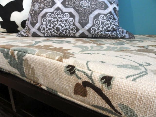 Diy Bench Cushion And Info On Amazing Online Fabric Store For That