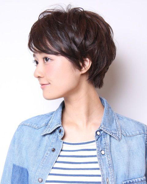大人のシンプルショート |BEAUTRIUM 福岡|(ビュートリアム)|美容室・美容院 - ヘアカタログLucri(ラクリィ)|最新のヘアスタイル・髪型情報を紹介