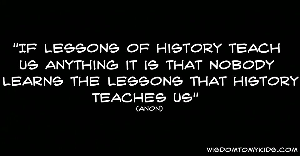 Funny Quote About History And Learning Zilch Image Quotes History Quotes Funny Quotes