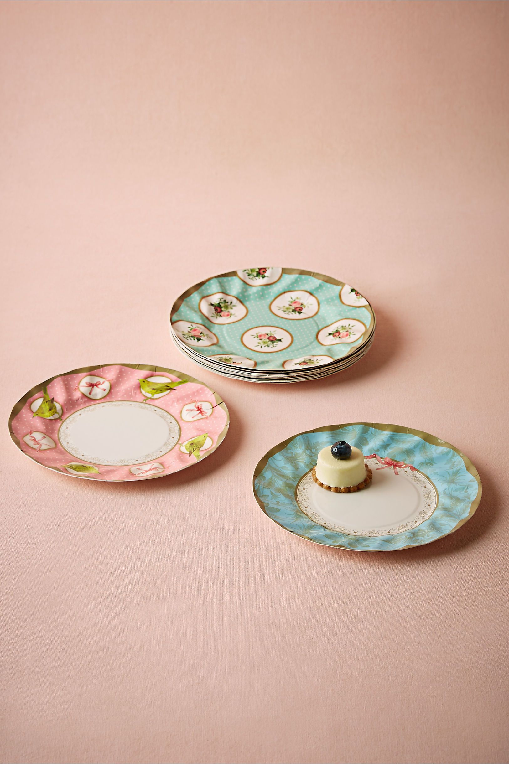 Love These For A Wedding Shower Tea Party Paper Plates From Bhldn