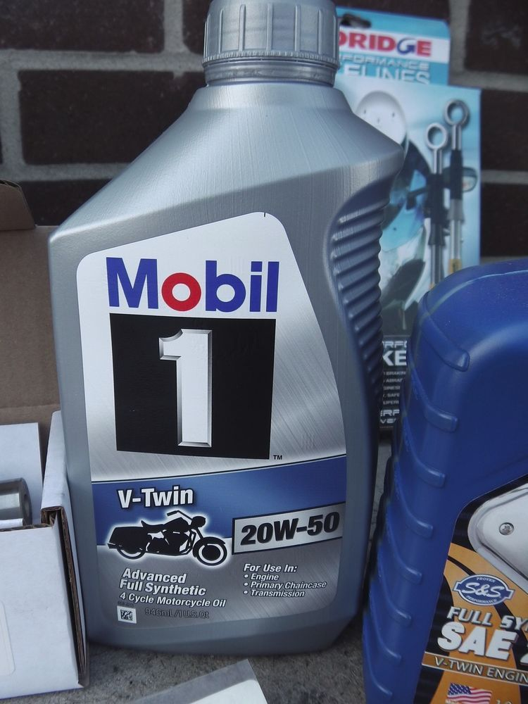 Mobil 1 Harley Davidson V Twin Oil 20w50 Fully Synthetic S