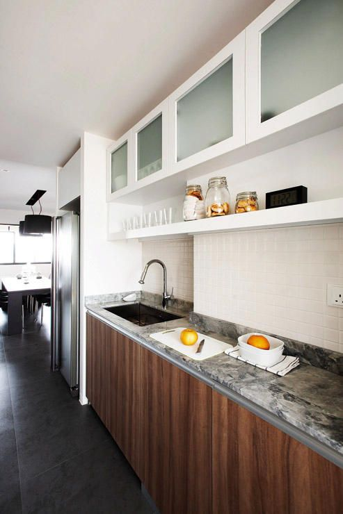 3 Room Hdb Kitchen: 9 Practical And Elegant Kitchens