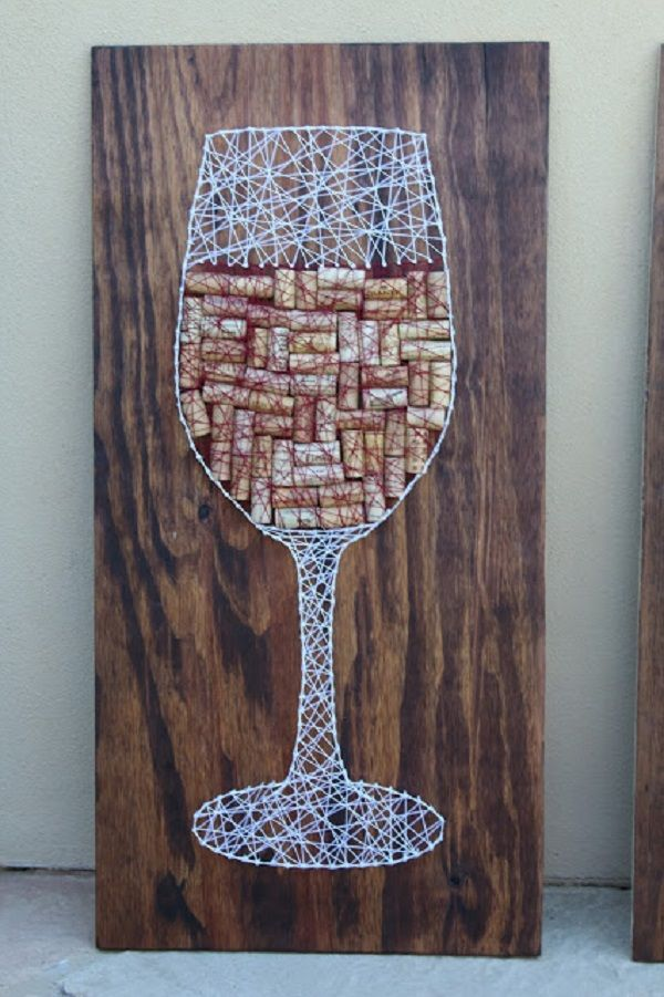 20 Creative and Easy DIY String Art Ideas and Patterns on Wood