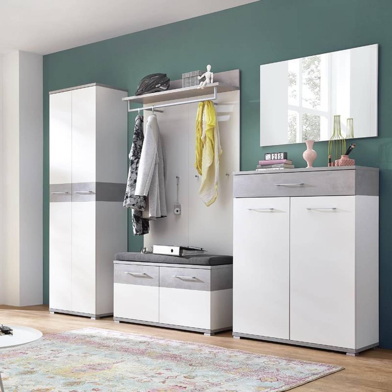 Garderoben Set Garderobe Modern Flur Einrichten Garderobe Flur