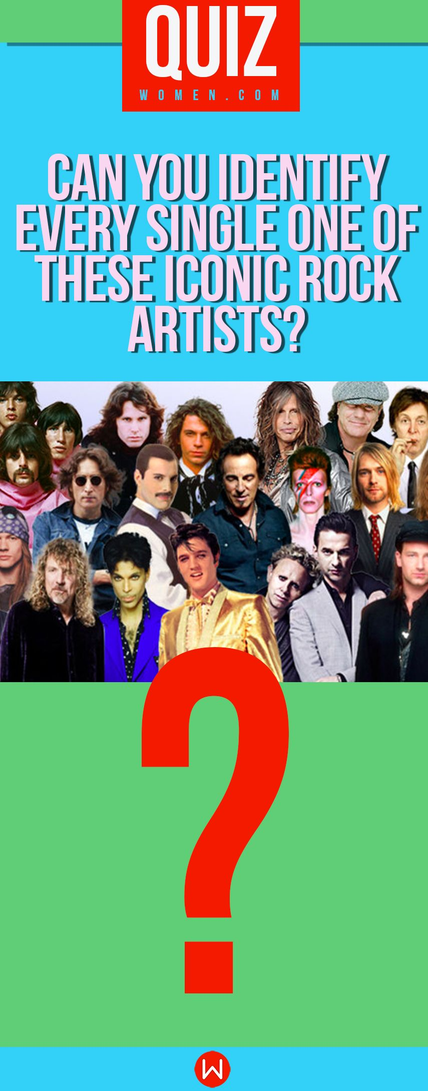 Quiz Can You Identify Every Single One Of These Iconic Rock Artists