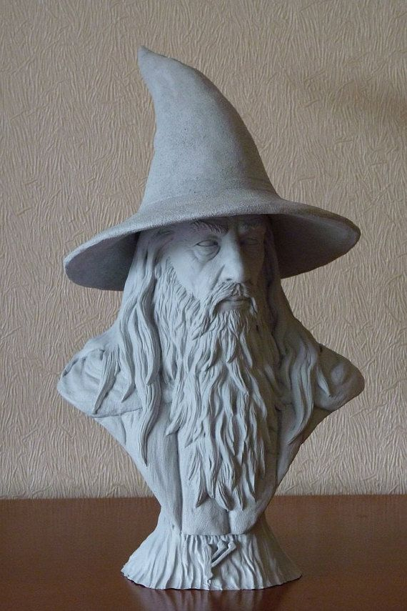 Gandalf bust inspired lord of the rings , the hobbit, LOTR ...