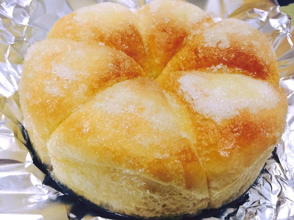 Resipi Roti Yang Sangat Lembut Dan Manis Dengan Taburan Gula Serta Mentega Cair Makanan Roti Makanan Dan Minuman