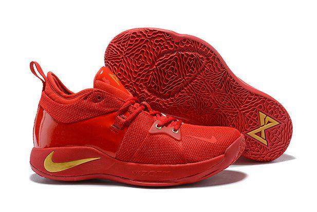 best website 589d5 1f6c9 Nike Zoom PG2 Playstation Mens Original Basketball Sports University Red  Yellow