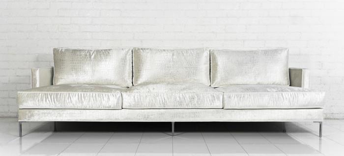 White velvet sofa hereo sofa for White velvet sectional sofa