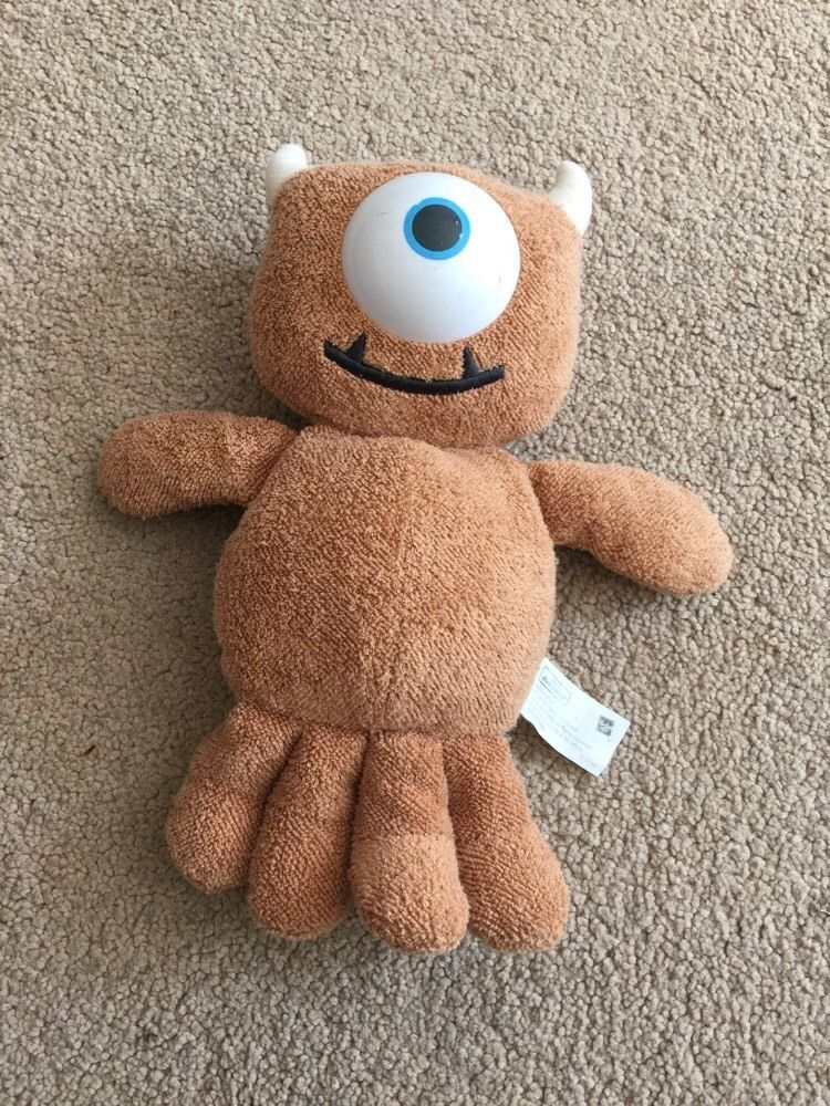 Disney Monsters Inc Little Mikey Boo Teddy Plush Soft Toy Approx 8