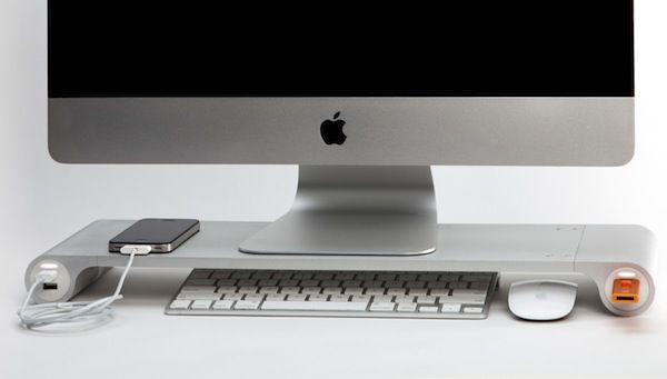 Bureau meuble intégré informatique imac design recherche google