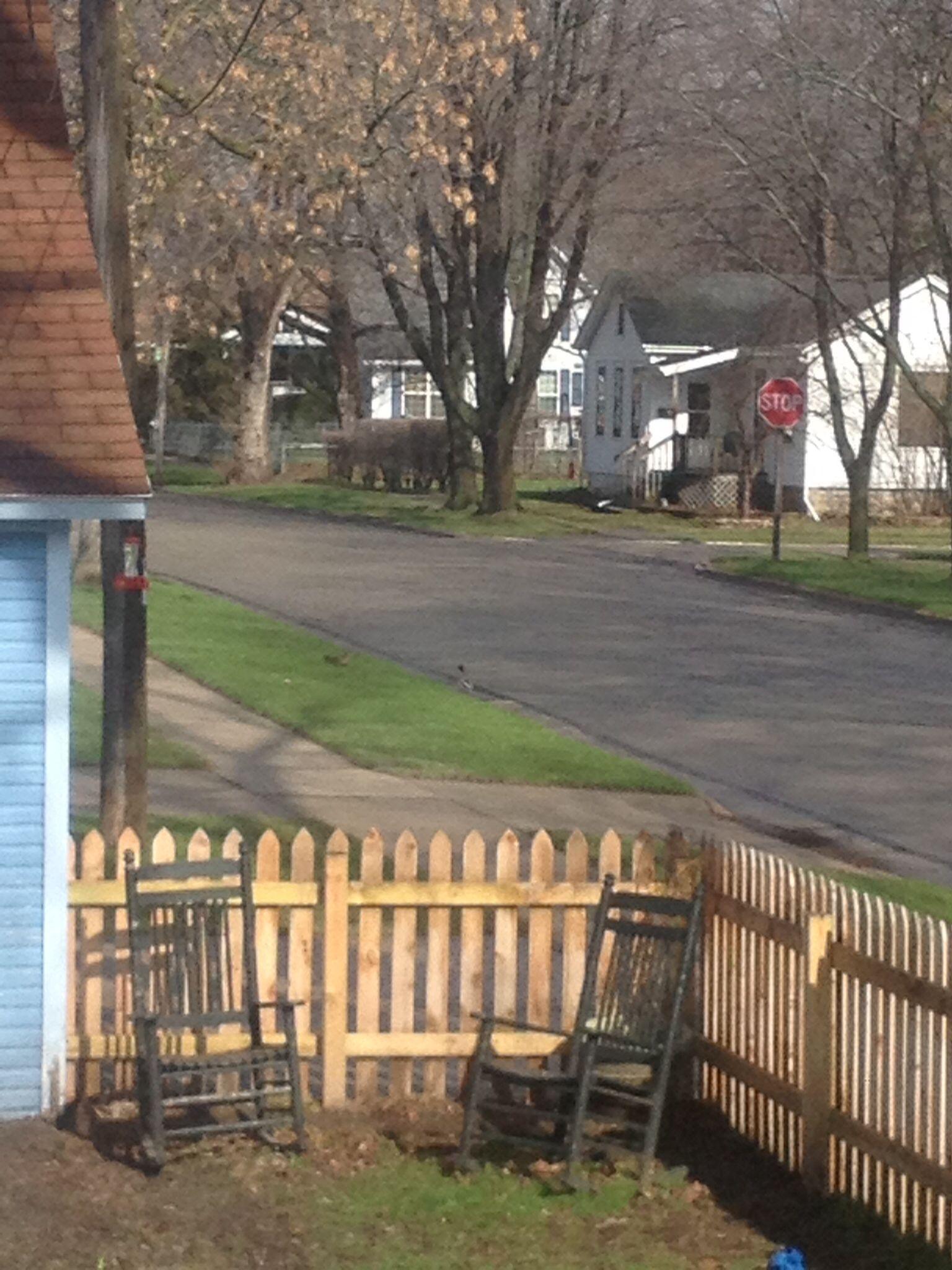 rocking in the backyard in my little town pinterest