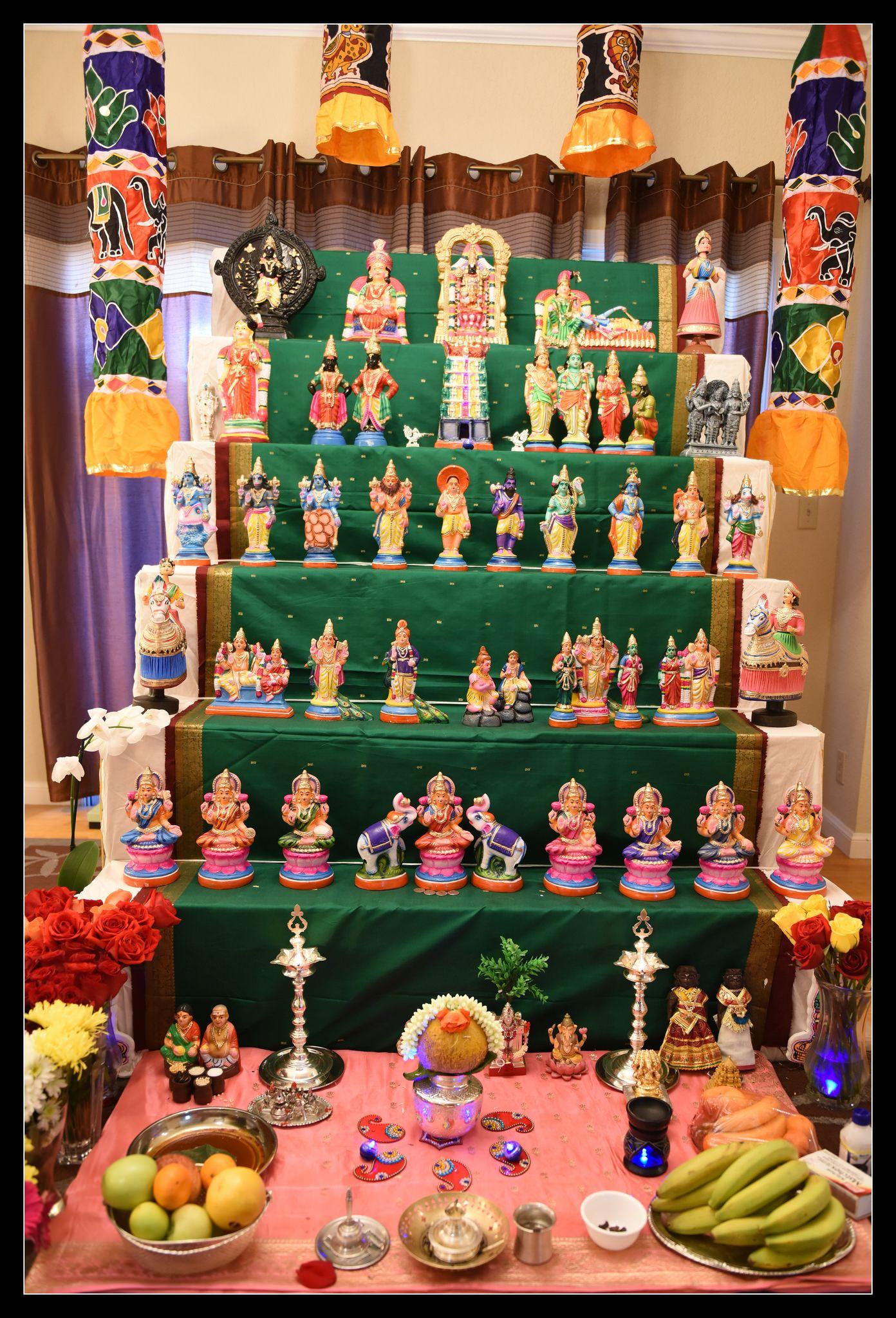 Golu 2016 Diy Diwali Decorations Mandir Decoration