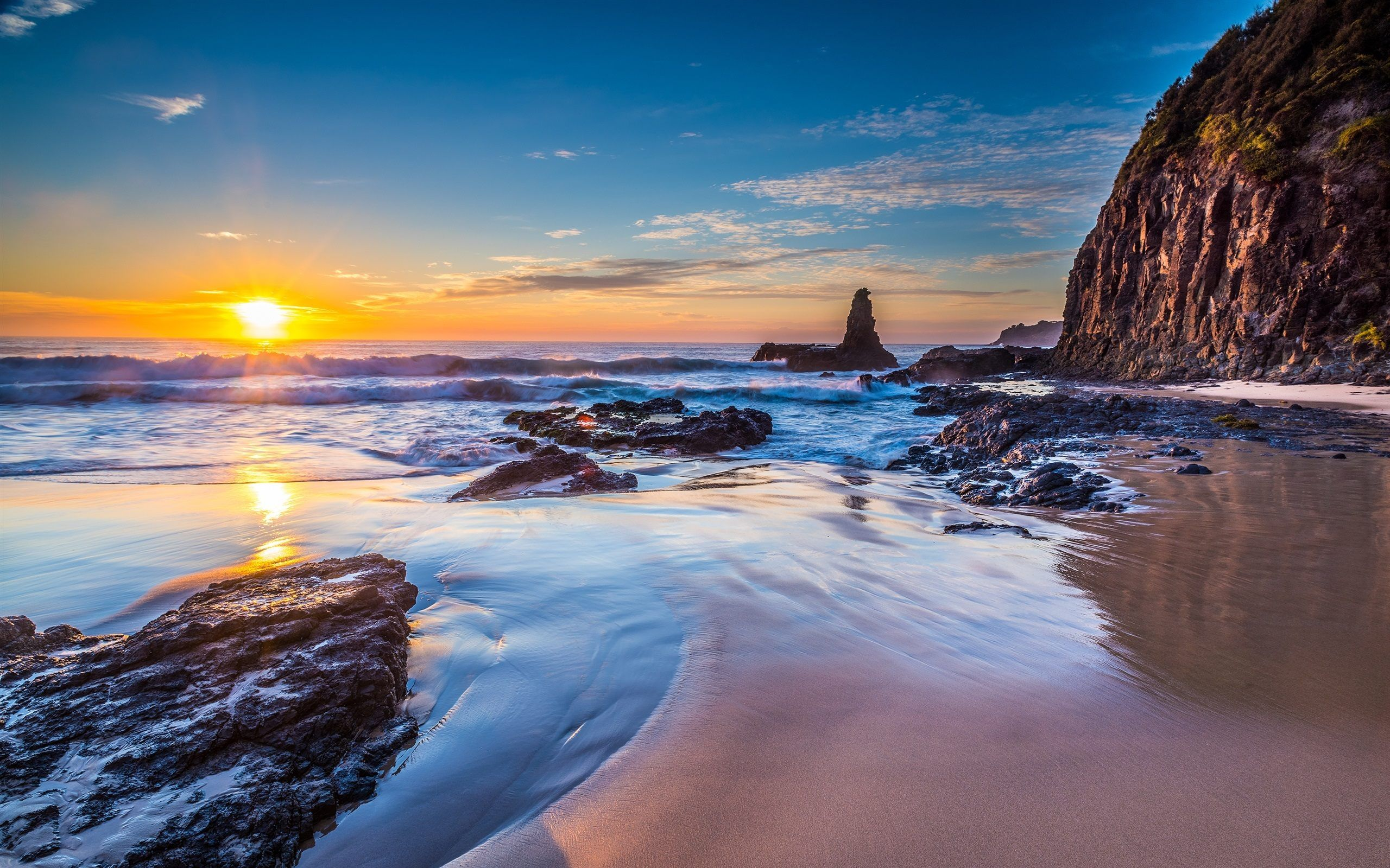 Jones Beach Australia Wallpaper Hd Download For Desktop Landscape Wallpaper Desktop Photography Landscape Walls