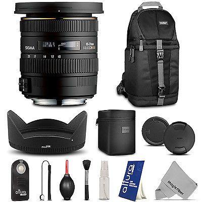 Sigma 10 20mm F 3 5 Ex Dc Hsm Autofocus Zoom Lens For Nikon Dslr Zoom Lens Nikon Dslr Dslr