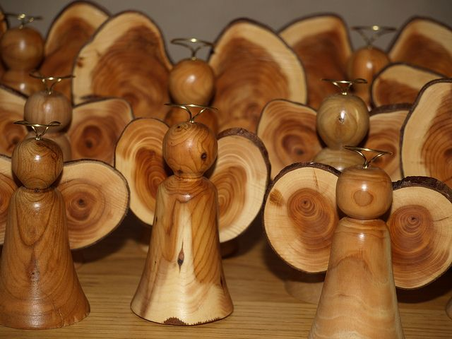 Host Of Angels Cool Wood Projects Wood Turning Wood Lathe