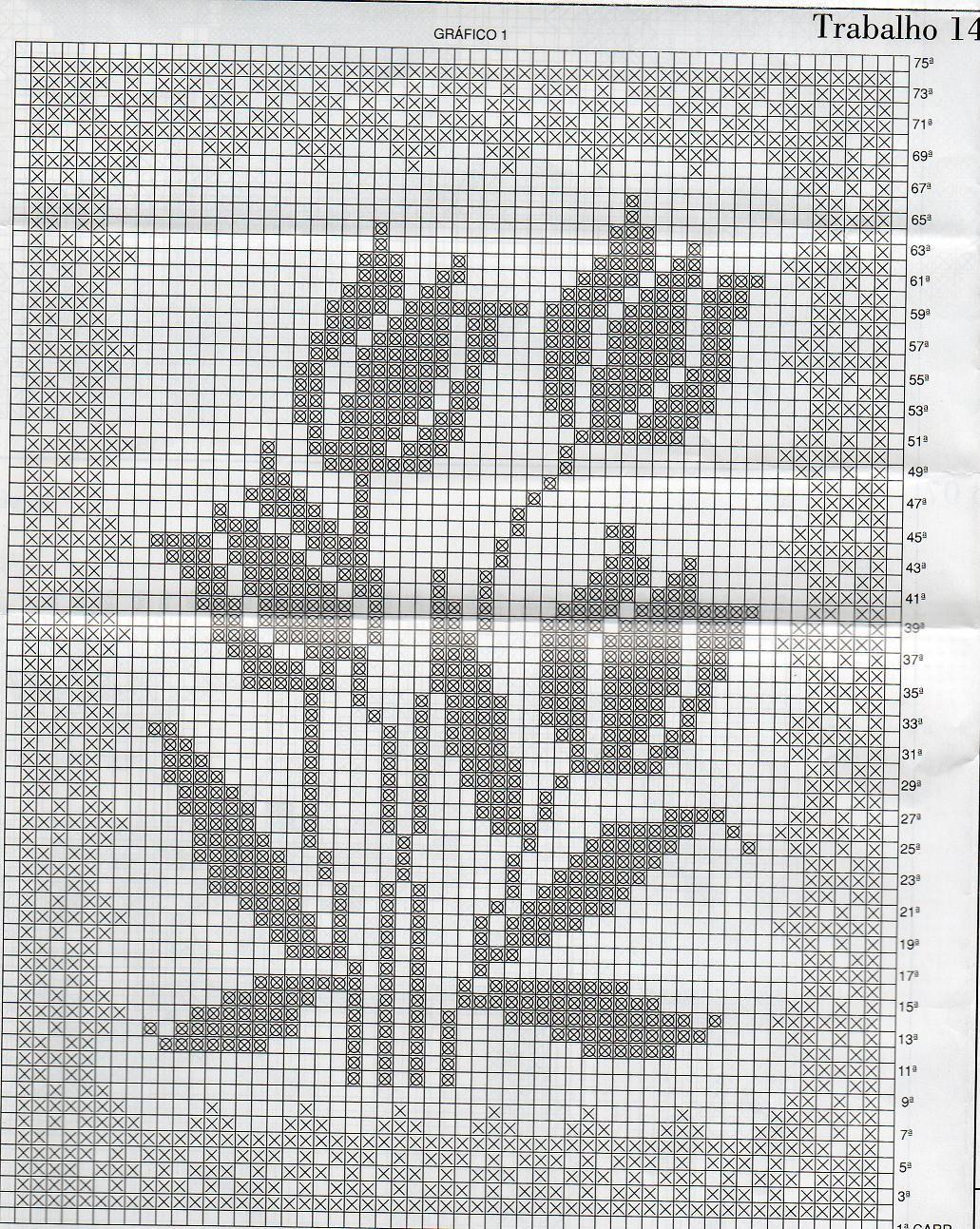 Patrones de cortinas: tecnica del ganchillo - Las Manualidades ...