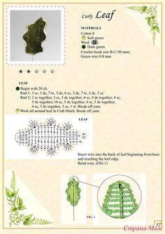 Вязаные цветы. THE BOOK OF CROCHET FLOWERS