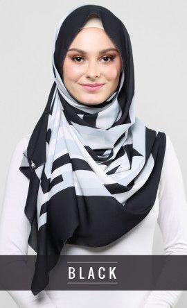 dkaleidoscope_black (1)   Scarf. Hijab fashion. Beautiful hijab