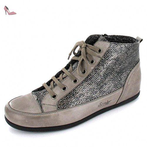 Lacet De Chaussure Semler Noir / Couleur Cuivre Semler HIPRn