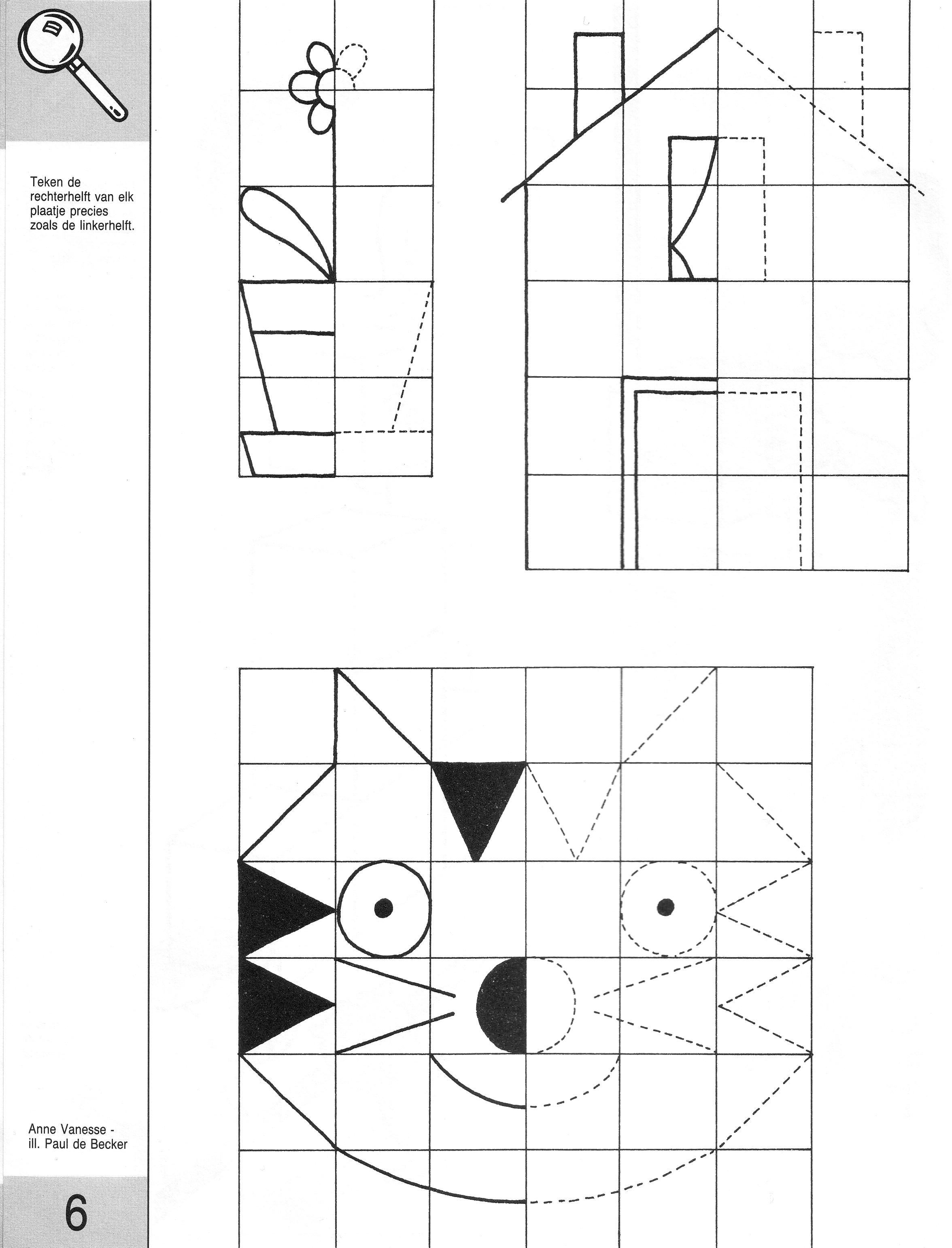 Symmetry Worksheets For Preschool