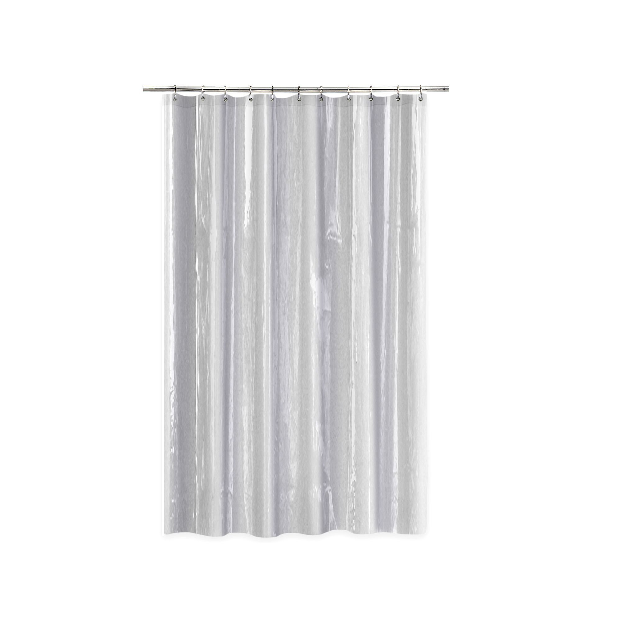 Splash Home Anti-Mildew Shower Curtain Liner, Other Clrs ...