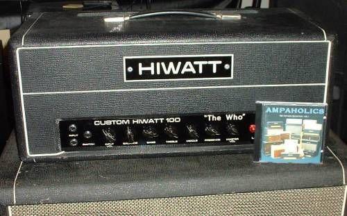 hiwatt hiwatt dr118 valve head the who amplifiers in 2019 guitar amp vintage guit. Black Bedroom Furniture Sets. Home Design Ideas