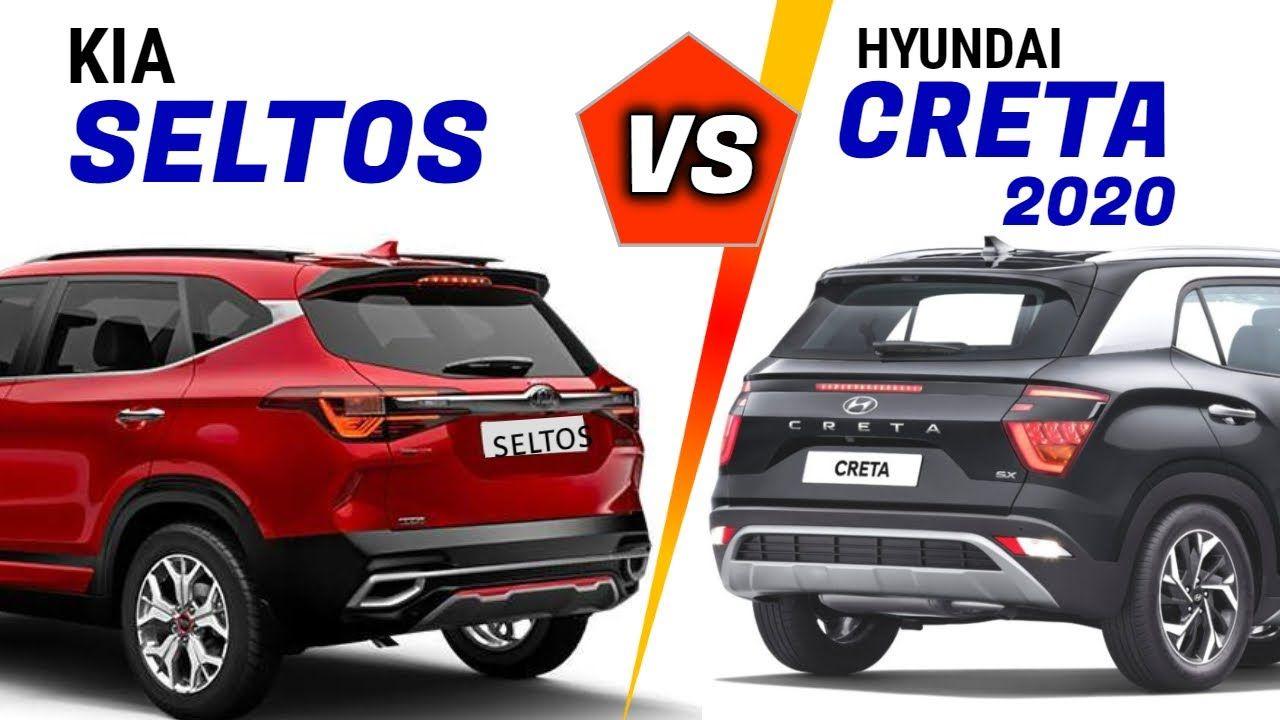 2020 Hyundai Creta Vs Kia Seltos Creta 2020 Ex Vs Kia Seltos Hte Cre In 2020 Hyundai Kia Suv