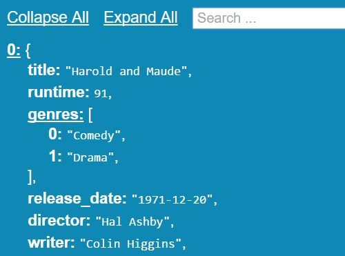 Searchable And Collapsible JSON Viewer With jQuery