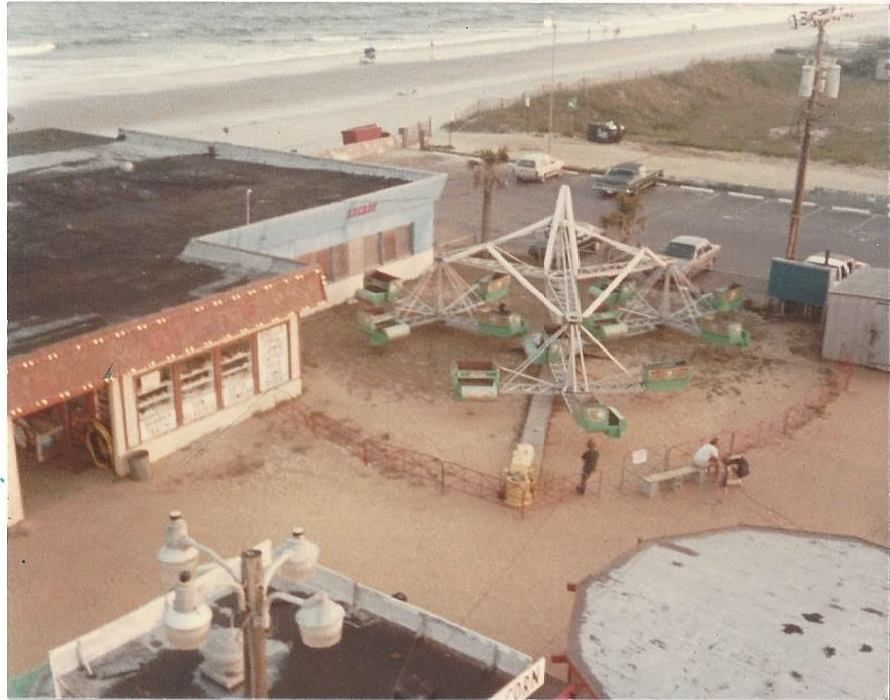 Surfside Pier Amusement Park Circa 1984 Surfside Beach Sc