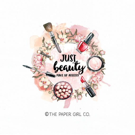 Make-up logo beauty logo cosmetics logo makeup artist logo ...