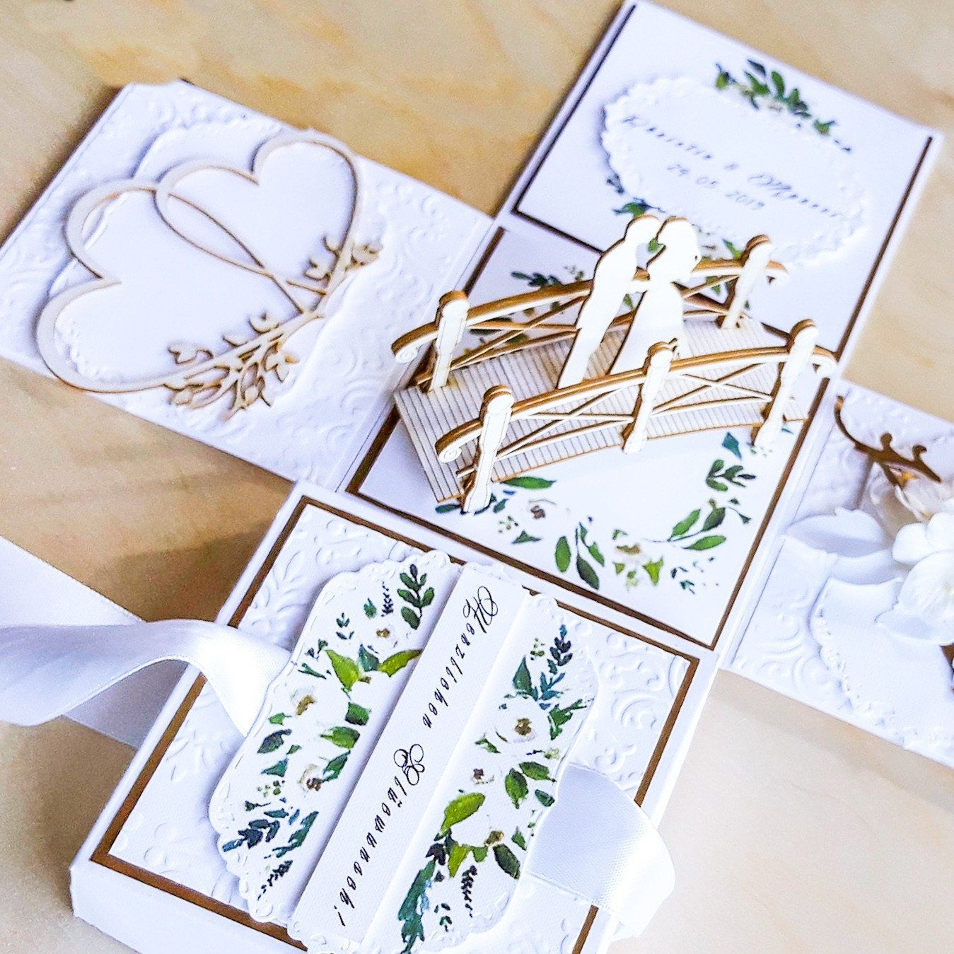 For Those Who Loves Rustic Gold And Greenery Weddings With Images