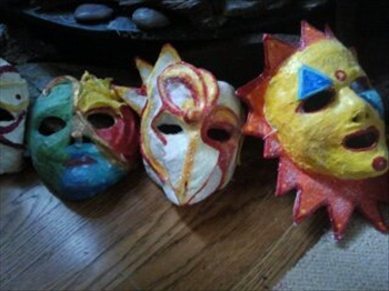 Embodied Mindfulness and Sacred Mask Making- This looks fun, would love to do it with the kiddos