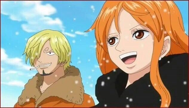 Nami and Sanji | One Piece | One piece, Sanji vinsmoke, Anime | 633 x 361 jpeg 36kB