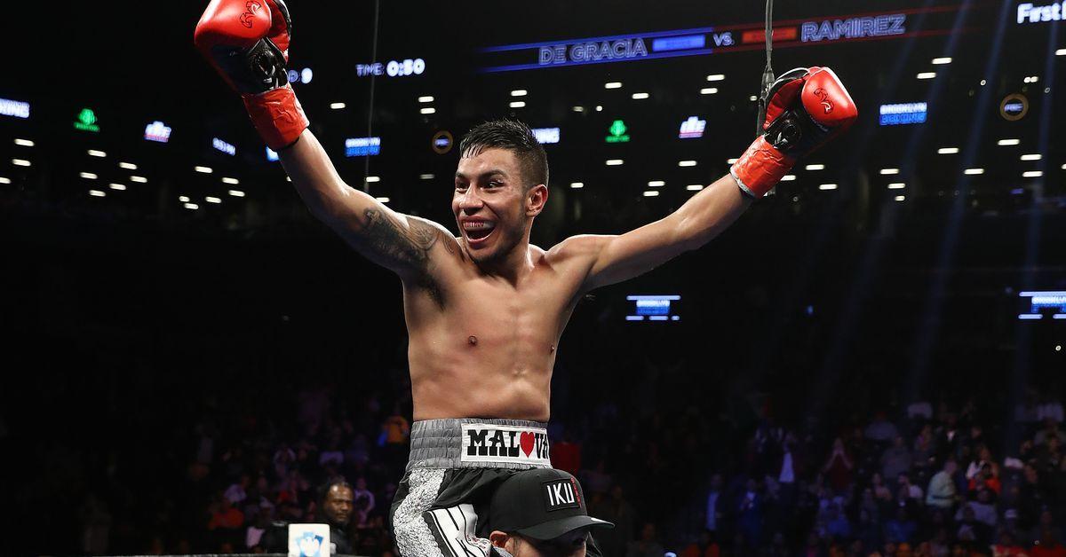 Ramirez Stops De Gracia In Nine We Got A Sudden Stoppage In Tonight S Showtime Opener Allthebelts Com Allthebelts Boxing Box Boxing News Showtime Gracia