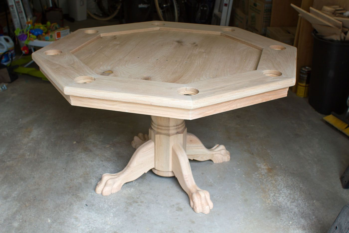 How To Build An Octagon Poker Table | GAME ROOM | Pinterest | Octagon Poker  Table, Poker Table And Poker